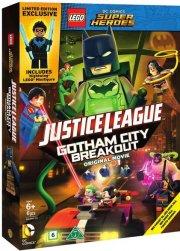 lego justice league - gotham city breakout - inkl. figur - DVD