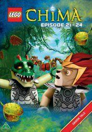 lego: legends of chima 6 - episode 21-24 - DVD