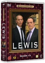 lewis - sæson 1-8 boks - DVD