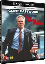 lige på kornet / in the line of fire - 4k Ultra HD Blu-Ray