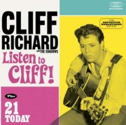 cliff richard - listen to cliff // 21 today - cd