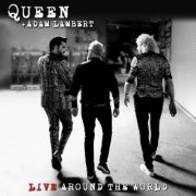 queen + adam lambert - live around the world  - cd