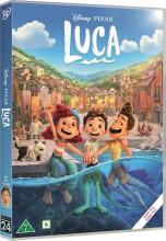 luca - disney pixar - DVD