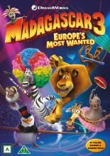 madagascar 3 - efterlyst i hele europa - DVD