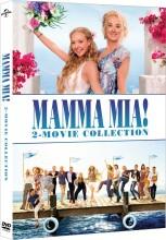 mamma mia 1 - the movie // mamma mia 2 - here we go again - DVD