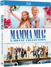 mamma mia 1 - the movie // mamma mia 2 - here we go again - Blu-Ray