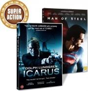 man of steel // icarus - DVD