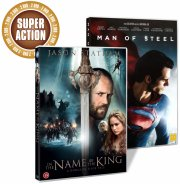 man of steel // in the name of the king - DVD