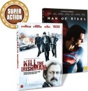 man of steel // kill the irishman - DVD