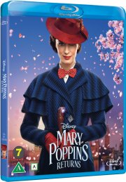 mary poppins returns / mary poppins vender tilbage - 2018 - disney - Blu-Ray