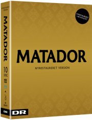 matador - komplet boks - ny restaureret hd version - Blu-Ray
