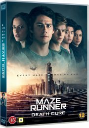 maze runner 3 - the death cure / maze runner 3 - dødskuren - DVD