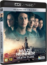 maze runner 3 - the death cure / maze runner 3 - dødskuren - 4k Ultra HD Blu-Ray