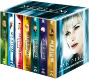 medium - sæson 1-7 - den komplette boks - DVD