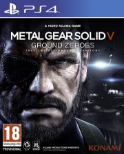 metal gear solid: ground zeroes - PS4