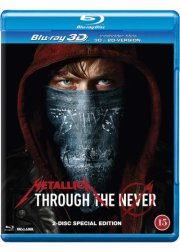 metallica - through the never - Blu-Ray