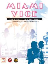 miami vice - den komplette serie - DVD