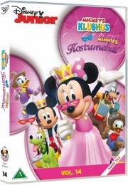 mickeys klubhus / mickey mouse clubhouse - minnies kostumebal - DVD