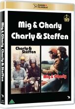 mig og charly + charly og steffen - DVD