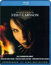 millennium - stieg larsson trilogien - Blu-Ray