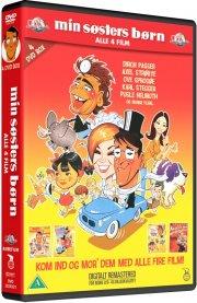 min søsters børn 1 // 2: på bryllupsrejse // 3: vælter byen // 4: når de er værst - DVD