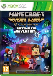 minecraft - story mode: the complete adventure - xbox 360