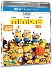 minions - 3D Blu-Ray
