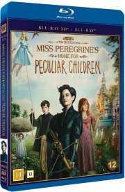 miss peregrines home for peculiar children - 3D Blu-Ray