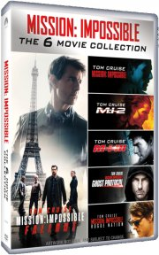 mission impossible 1-6 - box set - DVD