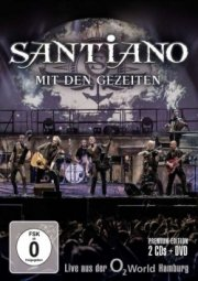 santiano - mit den gezeiten - live aus der o2 hamburg  - Cd+dvd