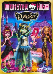 monster high - 13 wishes - DVD
