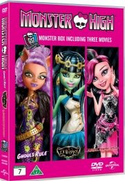 monster high: frights camera action // 13 wishes // ghouls rule - DVD