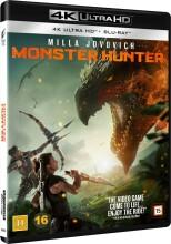 monster hunter - 4k Ultra HD Blu-Ray