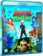 monsters vs aliens - Blu-Ray