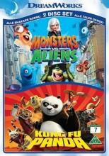 kung fu panda // monsters vs aliens - DVD