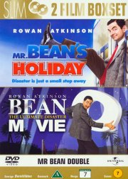 mr. beans holiday // mr. bean the movie - DVD