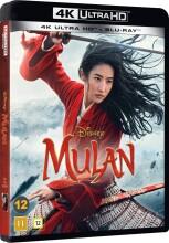 mulan 2020 - disney - live-action - 4k Ultra HD Blu-Ray