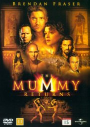 mumien vender tilbage / the mummy returns - DVD