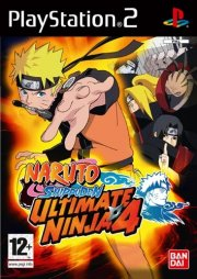 naruto shippuden ultimate ninja 4 - PS2