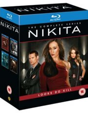 nikita - sæson 1-4 - komplet box set - Blu-Ray