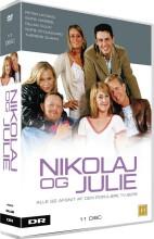 nikolaj og julie - boksen - dr tv serie - DVD