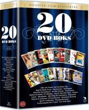 nordisk film klassikere - 20 dvd boks med danske film - DVD