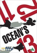ocean's eleven // ocean's twelve // ocean's thirteen - DVD