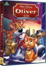 oliver og co - disney - DVD