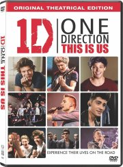 one direction: this is us - DVD