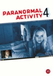 paranormal activity 4 - DVD