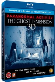 paranormal activity 5: the ghost dimension - 3D Blu-Ray