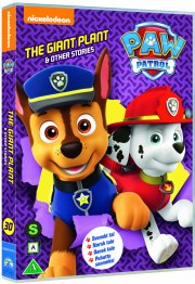 paw patrol - the giant plant - DVD