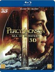 percy jackson 2: uhyrernes hav - 3D Blu-Ray