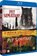 pet sematary 2-movie box - Blu-Ray